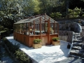 Traditional freestanding greenhouse