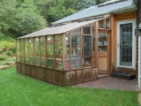 Redwood Garden sun room greenhouse
