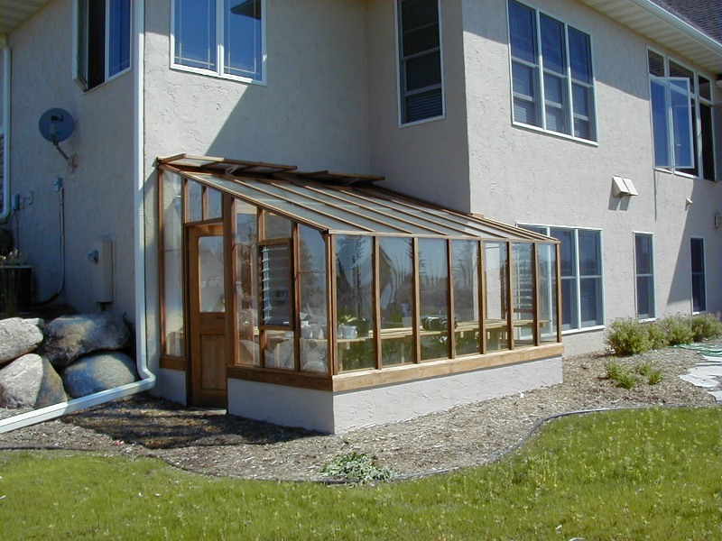 Garden sunroom greenhouse gallery sturdi built greenhouses for House plans with greenhouse attached