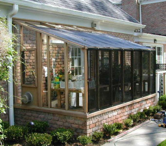 Garden sunroom greenhouse gallery sturdi built greenhouses for House sunroom