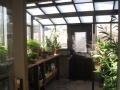 Interior of a Garden Sun Room greenhouse in Idaho