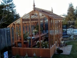 Asymmetrical greenhouse