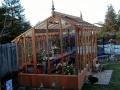 Asymmetrical greenhouse