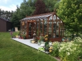 Nantucket Greenhouse set in Montana