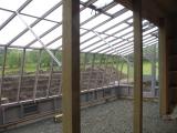 Solite Lean-to greenhouse interior