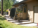 Small lean-to greenhouse in Bend OR