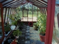 garden greenhouse interior
