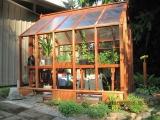 7x9 Trillium greenhouse, customized