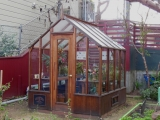 San Francisco small wood greenhouse