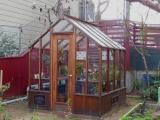 San Francisco small wood greenhouse