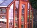 Trillium greenhouse with shade cloth