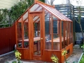 Small greenhouse in San Francisco