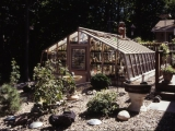 Home greenhouse for cactus