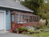 Lean-to Greenhouse attached to garage