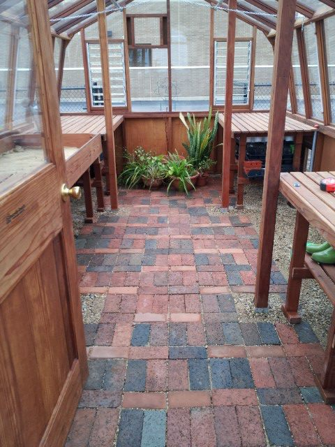 Greenhouse Floor Ideas