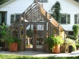 Tudor Greenhouse - Custom 14 X 14