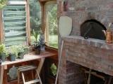 Interior of Bread Oven Greenhouse