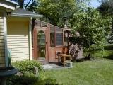 Bread Oven Greenhouse