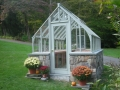 Tudor greenhouse in Connecticut