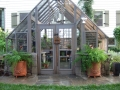 Custom 14 X 14 Tudor Greenhouse