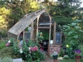Home greenhouse in Port Orchard WA
