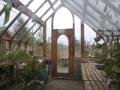 Interior of Vashon Island greenhouse