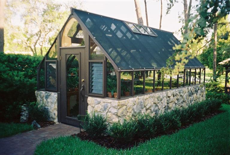 Greenhouse Floor Gravel