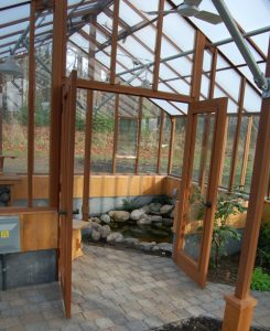 Greenhouse options - interior partition wall