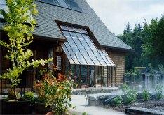 Custom greenhouse sunroom