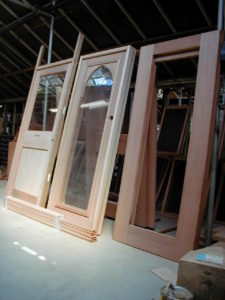 Handmade Greenhouse doors