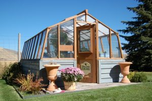 Tropic 10ft wide home greenhouse