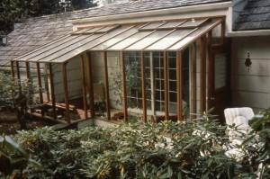 Garden Sun Room-odd shaped porch