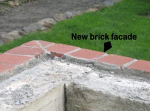 New brick Facade