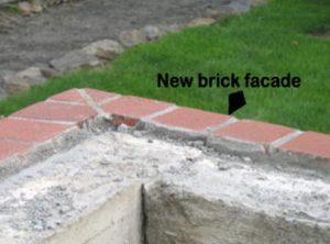 New brick Facade