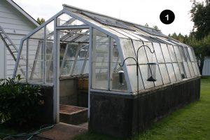 Greenhouse needing replacement