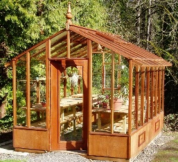 9x12 Garden Deluxe-a great space for greenhouse gardening