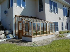 Garden Sun Room Lean-to greenhouse