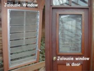 Greenhouse Jalousie Windows
