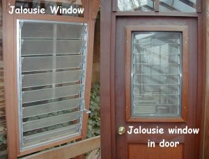 Greenhouse Options - jalousie windows
