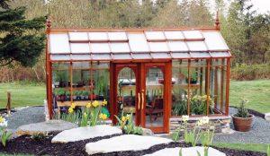 "Nantucket Greenhouse 10' x 16' on 18"" base"