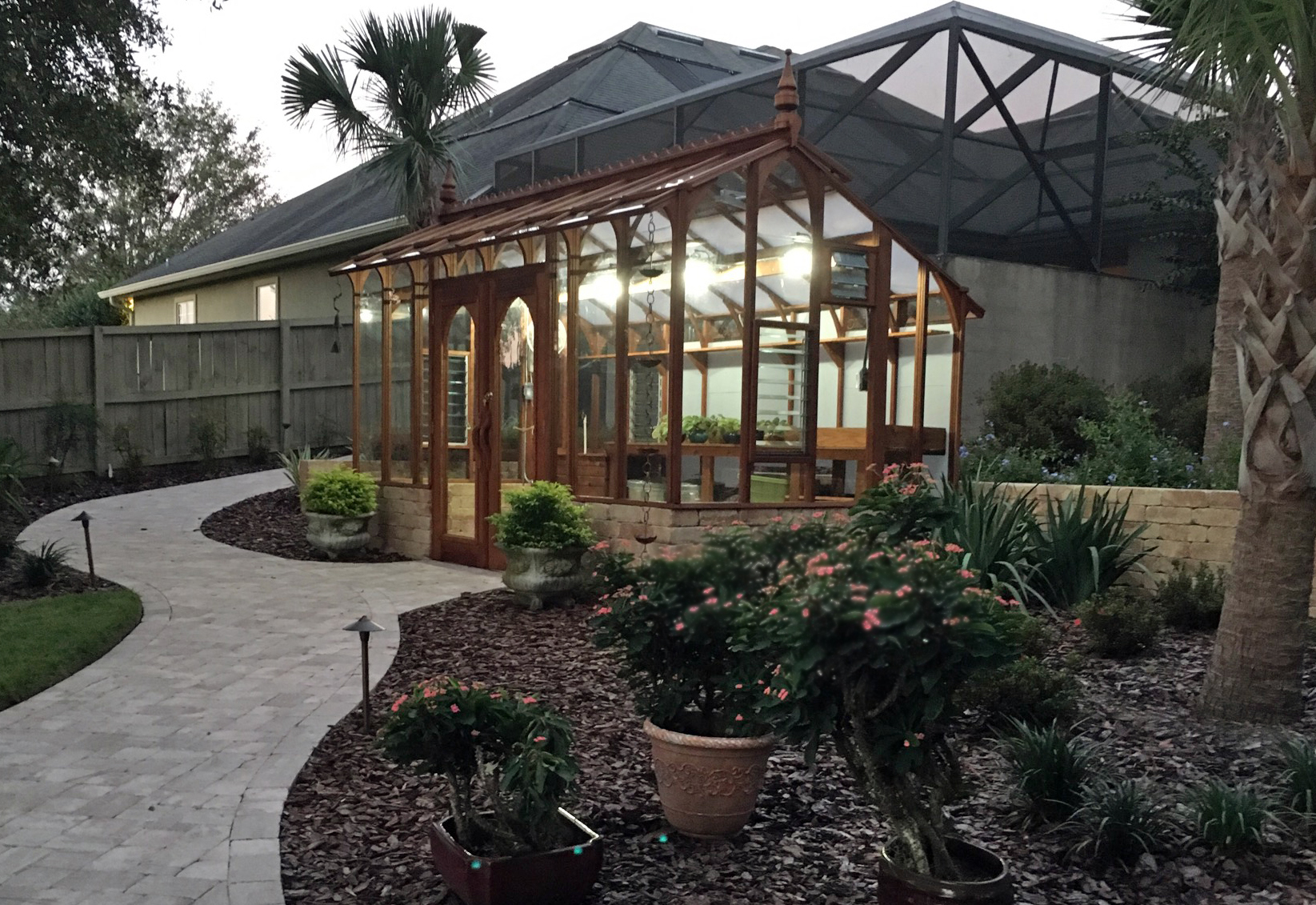 Nantucket Style Greenhouse Gallery