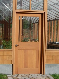 Standard Greenhouse door