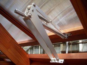 Bayliss Greenhouse Solar Vent Opener