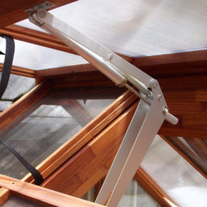 Wind Strap for greenhouse vents